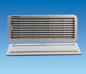 Dometic Fridge Vent Bottom With Winter Cover LS200 - White