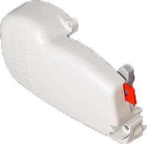 FIAMMA LEFT HAND END COVER F45S POLAR WHITE - 98655-539