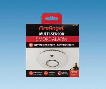 FireAngel 10 Year Toast Proof Smoke Detector