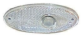 Hella Recessed Front Clear Oval Marker Light
