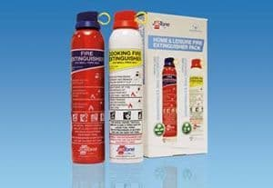 Home & Leisure Fire Extinguisher Pack