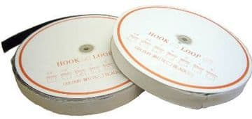 Hook & Loop Tape 25m White