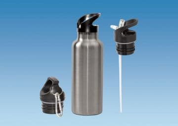 Insulated Drinks Bottle 500ml - CHROME