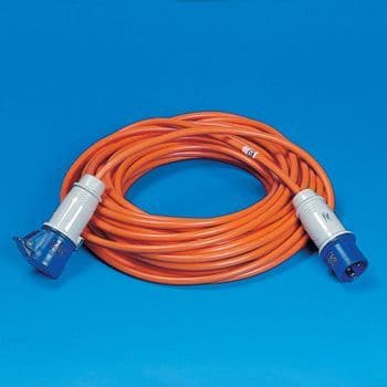 Mains Hook Up Leads - 25Mtr