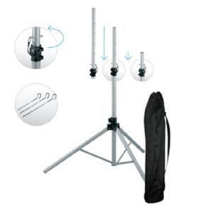 MAXVIEW DELUXE SATELLITE TRIPOD STAND