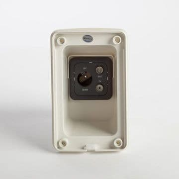 Multimedia  Socket - White