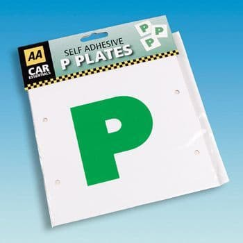 P Plates  2 Pack Self Adhesive