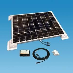 Rigid Monocrystalline 80W Solar Panel Kit