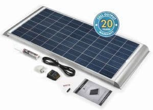 SOLAR TECHNOLOGY 120W SOLAR PANEL AERO PROFILE & KIT