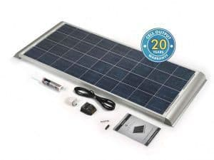 SOLAR TECHNOLOGY 150W SOLAR PANEL WITH AERO PROFILE & KIT
