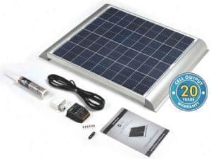 SOLAR TECHNOLOGY 60W SOLAR PANEL WITH AERO PROFILE & KIT
