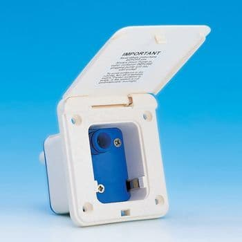 Watermaster Socket for Pressurised System (Ivory)