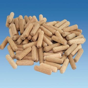 Wooden Dowels 8mm x 30mm Pack of 100