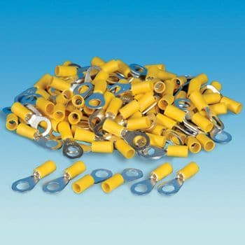 Yellow Ring Terminal - Pack of 100