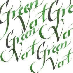 Calligraphy Ink Green