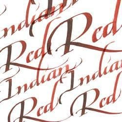 Calligraphy Ink Indian Red