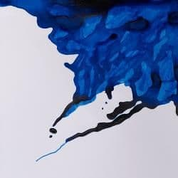 Drawing Ink Blue