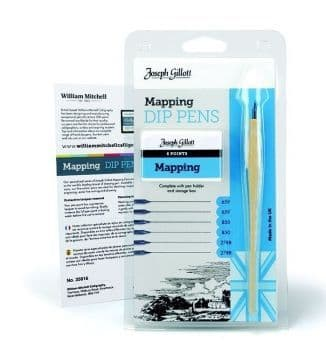 J. Gillot Mapping pen card 35816