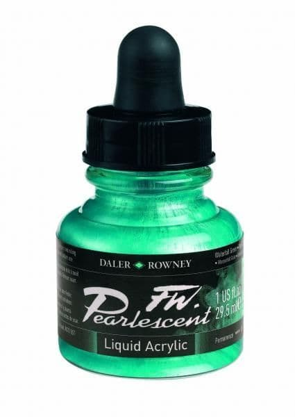 Pearlescent Waterfall Green