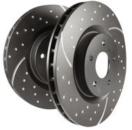 EBC Solid Discs for Defender Front & Early 110/130 Rear