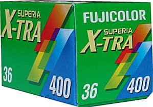 Fuji Superia 400 iso 36 exposure Colour Print Camera  Film