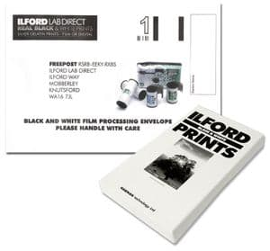 Ilford Process & Print Black White Film Mailer