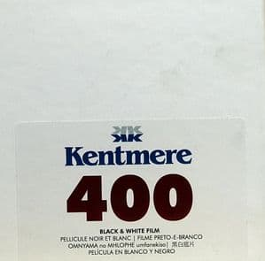 Kentmere Pan (By Ilford)400 30.5m Bulk 35mm Camera Film