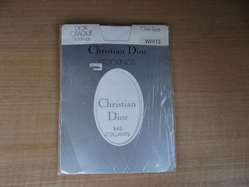 """VINTAGE """"CHRISTIAN DIOR"""" STOCKINGS  SIZE :- ONE SIZE D93"""