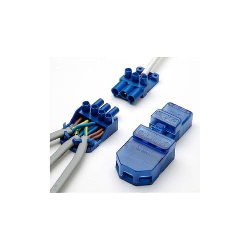 100 x Click Flow connectors lighting junction box CT101C