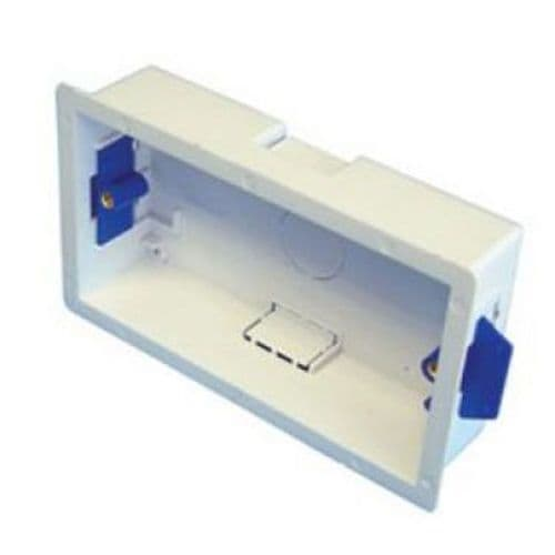 2 gang 35mm twin double DRY LINING PLASTERBOARD BOX