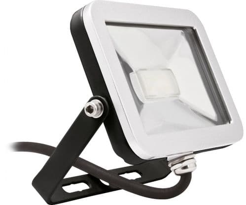 Brackenheath 30 WATT LED Floodlight  ISPOT BLACK  ULTRA THIN SLIM