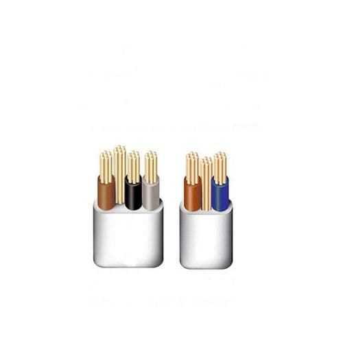 Cut Lengths Twin & Earth 3 Core & Earth Cable 1mm 1.5mm 2.5mm 4mm 6mm 10mm 16mm