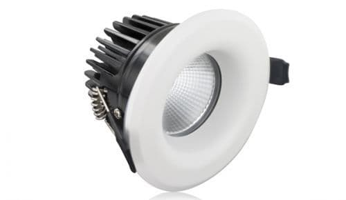 Fire Rated Downlight 6W (35W) 3000K 410lm 36 deg beam angle 70mm cut-out Dimmable