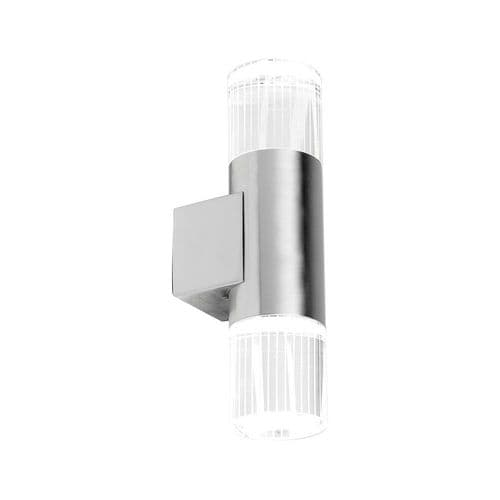 SAXBY YG-7501 GRANT Twin Stainless Steel Up/Down LED Outdoor Wall Light