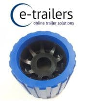 26mm bore -BOAT TRAILER WOBBLE ROLLER -NON MARKING BLUE/BLACK - FITS EXTREME TRAILERS