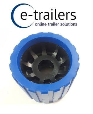 26mm bore -BOAT TRAILER WOBBLE ROLLER -NON MARKING BLUE/BLACK - FITS EXTREME ADMIRAL BOAT AND JET SKI TRAILERS