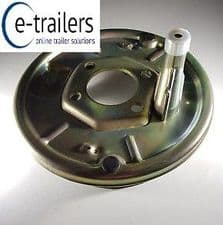 """BOLT ON 200 x 50 8"""" BACKPLATE FOR KNOTT AXLE BRAKE SYSTEM IFOR WILLIAMS HORSE BOX"""