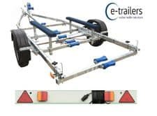 EXTREME 1300kg FIXED KEEL BUNK BOAT TRAILER - CORNISH CRABBER SHRIMPER 17