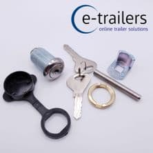 HITCH LOCK KIT FOR KNOTT AVONRIDE WITH KEYS  - FITS IFOR WILLIAMS TRAILERS