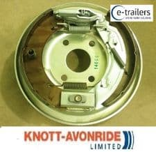 KNOTT 250x40 LEFT SIDE COMPLETE BOLT ON TRAILER BACKPLATE IFOR WILLIAMS P000160