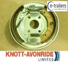 KNOTT 250x40 RIGHT SIDE COMPLETE BOLT ON TRAILER BACKPLATE IFOR WILLIAMS P000160