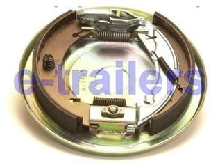 KNOTT LEFT SIDE 250x40 COMPLETE TRAILER BACKPLATE ASSEMBLY -IFOR WILLIAMS