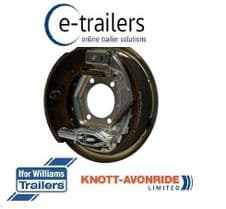 KNOTT RIGHT SIDE 200x50 BOLT ON BACK PLATE BRAKE ASSEMBLY FOR IFOR WILLIAMS