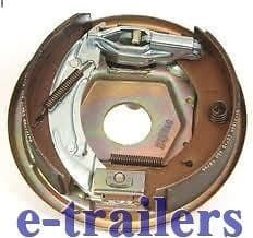 KNOTT RIGHT - SIDE 200x50 COMPLETE BACKPLATE ASSEMBLY BRAKE SHOES -IFOR WILLIAMS