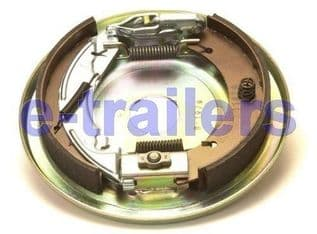 KNOTT RIGHT SIDE 250x40 COMPLETE TRAILER BACKPLATE ASSEMBLY -IFOR WILLIAMS