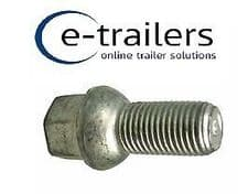 M14 TRAILER WHEEL BOLT 1.5 CONICAL REPLACE F1835ZPK IFOR WILLIAMS 19mm HEAD