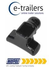 Maypole PVC Rubber 50mm Trailer Tow Ball & Bolt Cover Cap Protector Boot -MP039B