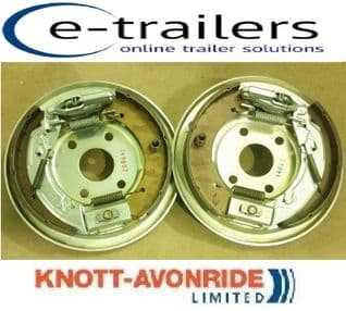 PAIR OF KNOTT 250x40 COMPLETE BOLT ON TRAILER BACKPLATE IFOR WILLIAMS P000160