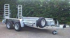 Pre-owned plant trailers