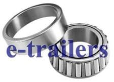 QUALITY TRAILER TAPERED WHEEL BEARING  - 30205  25 x 52 x 16.25